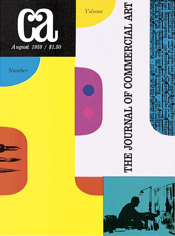 First issue of Communication Arts magazine 1959  a4b0df6e1
