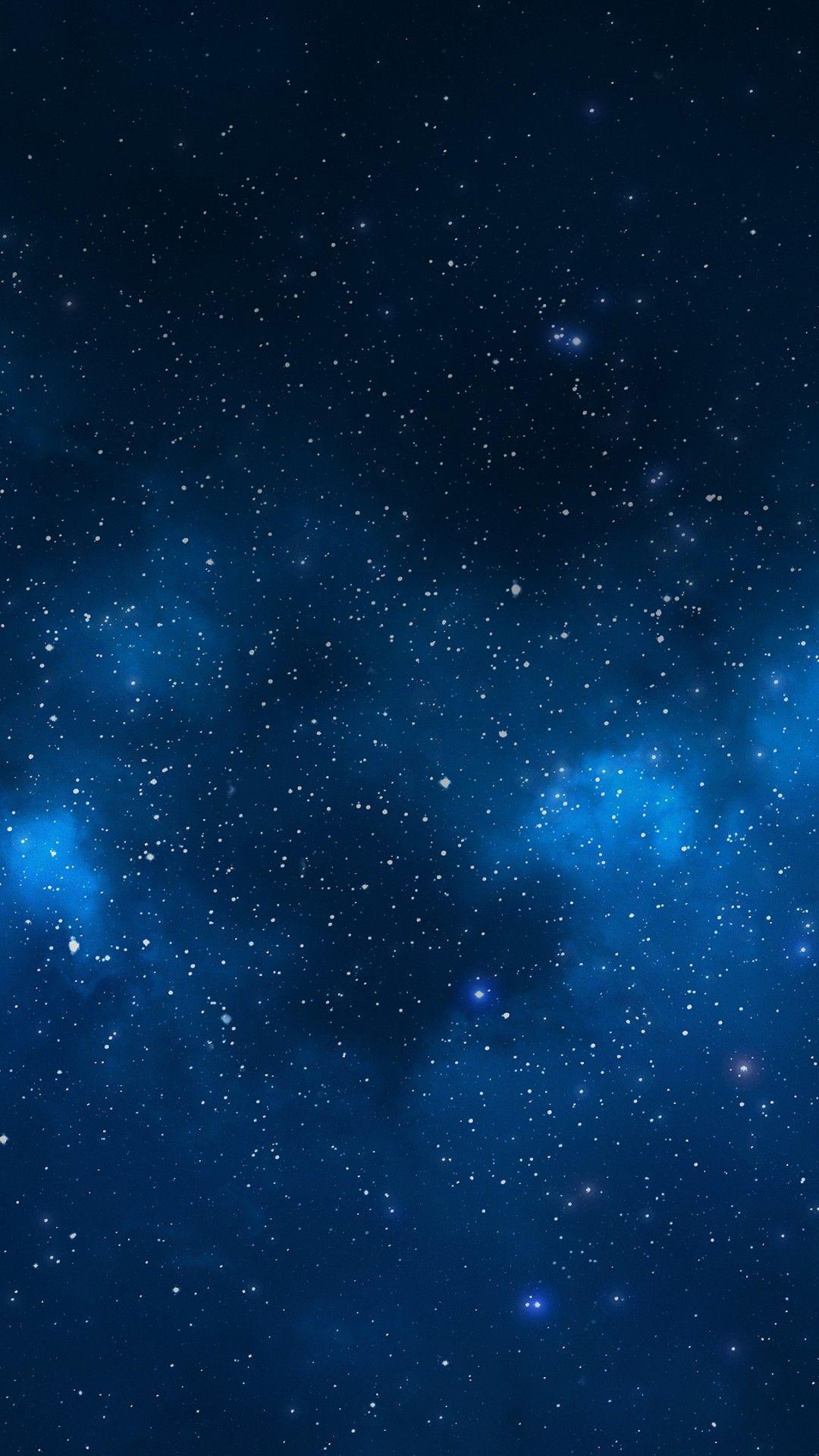 Aesthetic Dark Blue Wallpaper Home Screen > Flip
