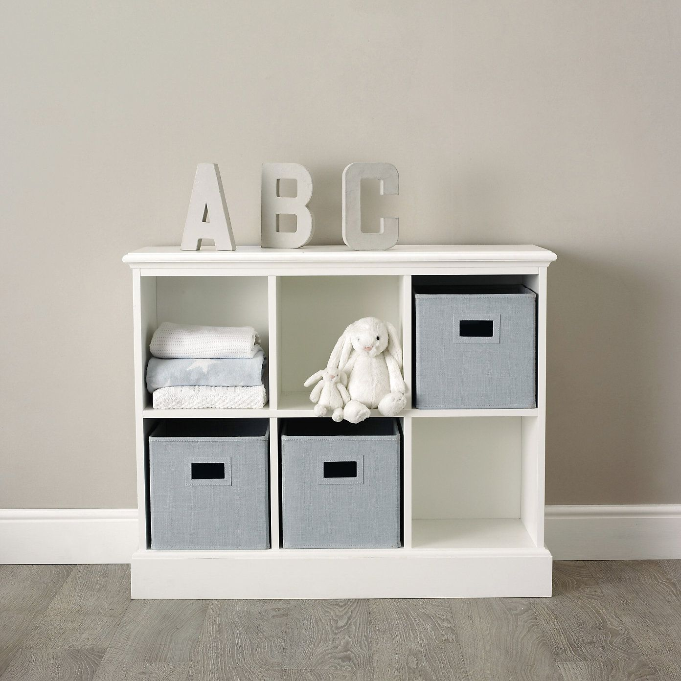 Classic 6 Cube Storage Unit The White Company Baby Room