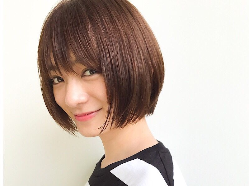 丸顔さんにも似合う 美容師がおすすめするショートヘアスタイル3選 Gatta ガッタ 髪型 ボブ ショートのヘアスタイル ショートカット 丸顔