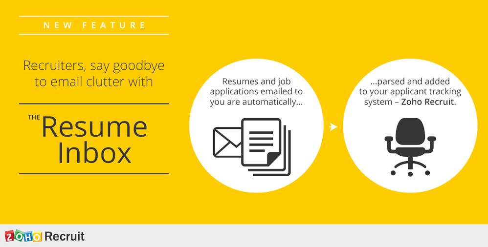 Resume Inbox Zoho Recruit Zoho Resume, Web