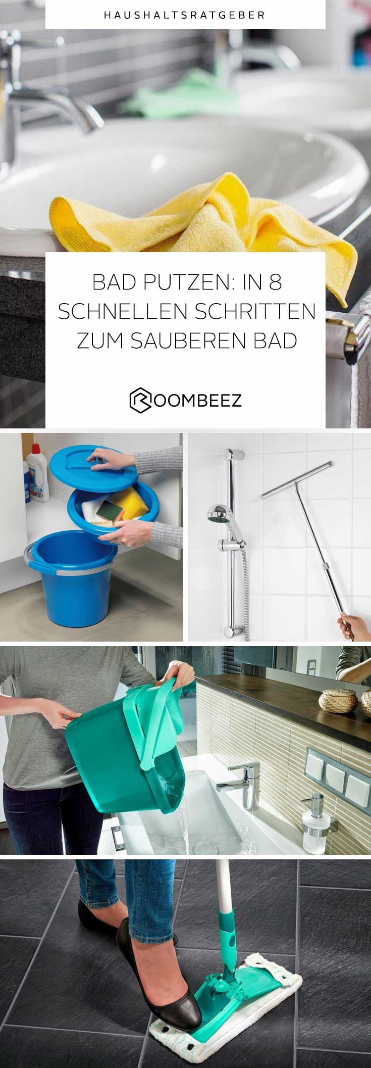 Bad putzen » 8 schnelle Schritte zum sauberen Bad in 2020