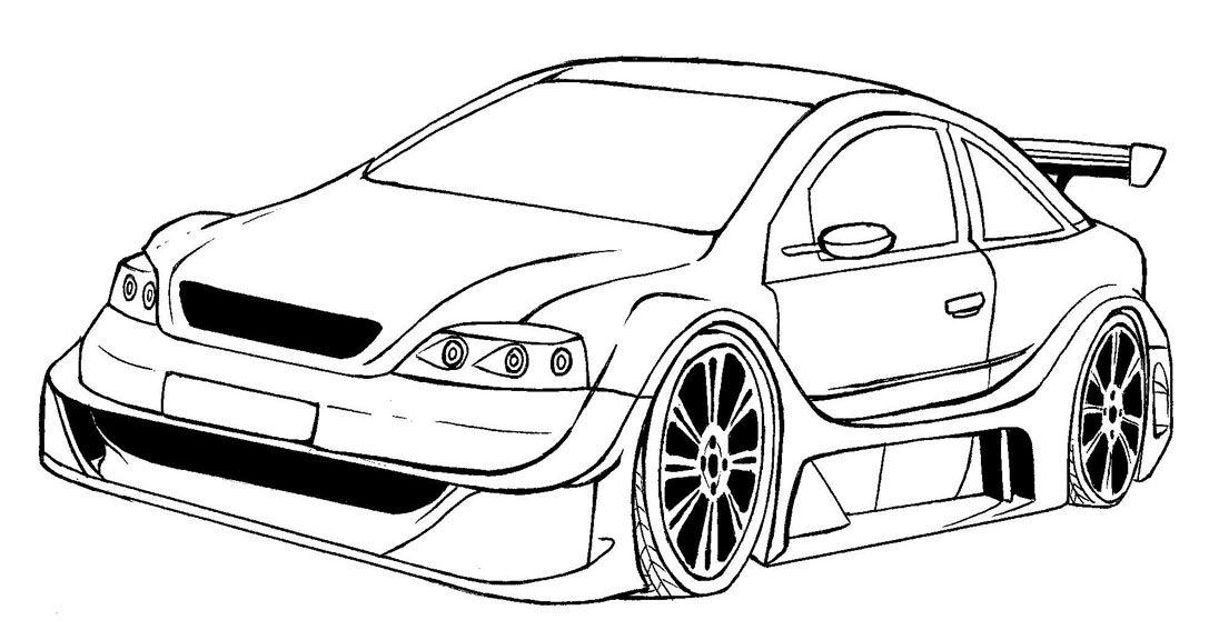 Dibujos Carros Para Colorear Imagixs