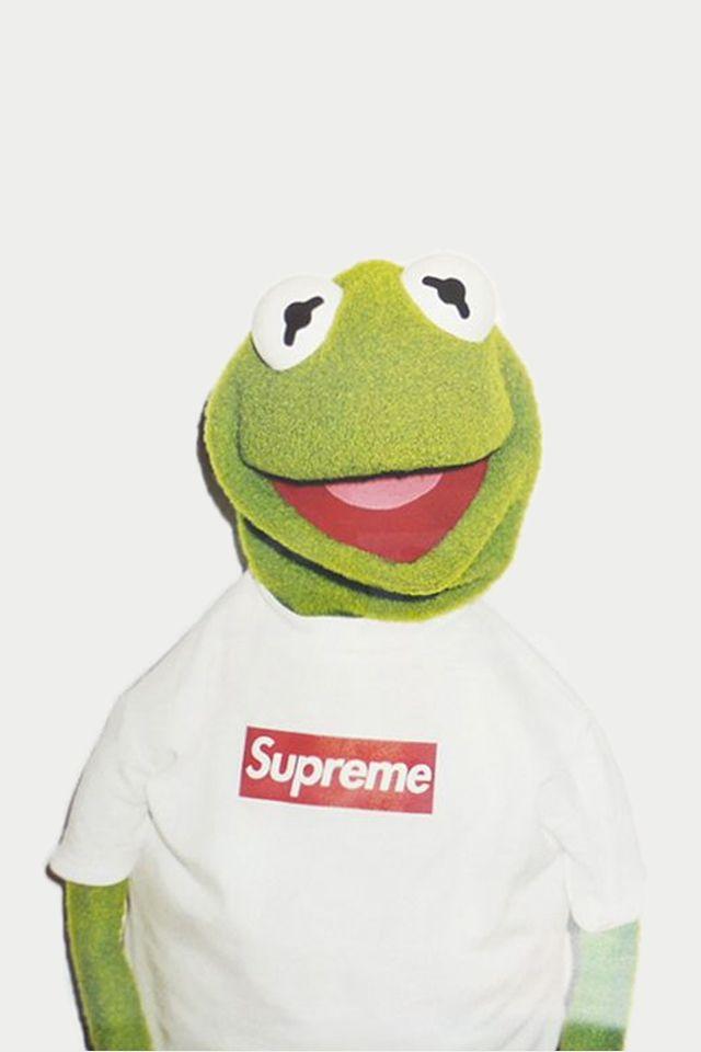 50be2dfe4ac1 Supreme X Kermit the frog