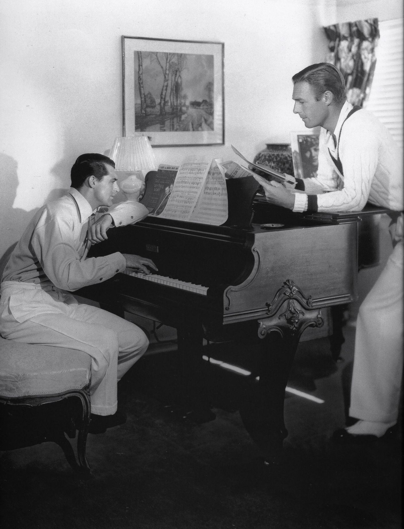 bachelors' hall – randolph scott and cary grant at home in the hollywood hills   img266
