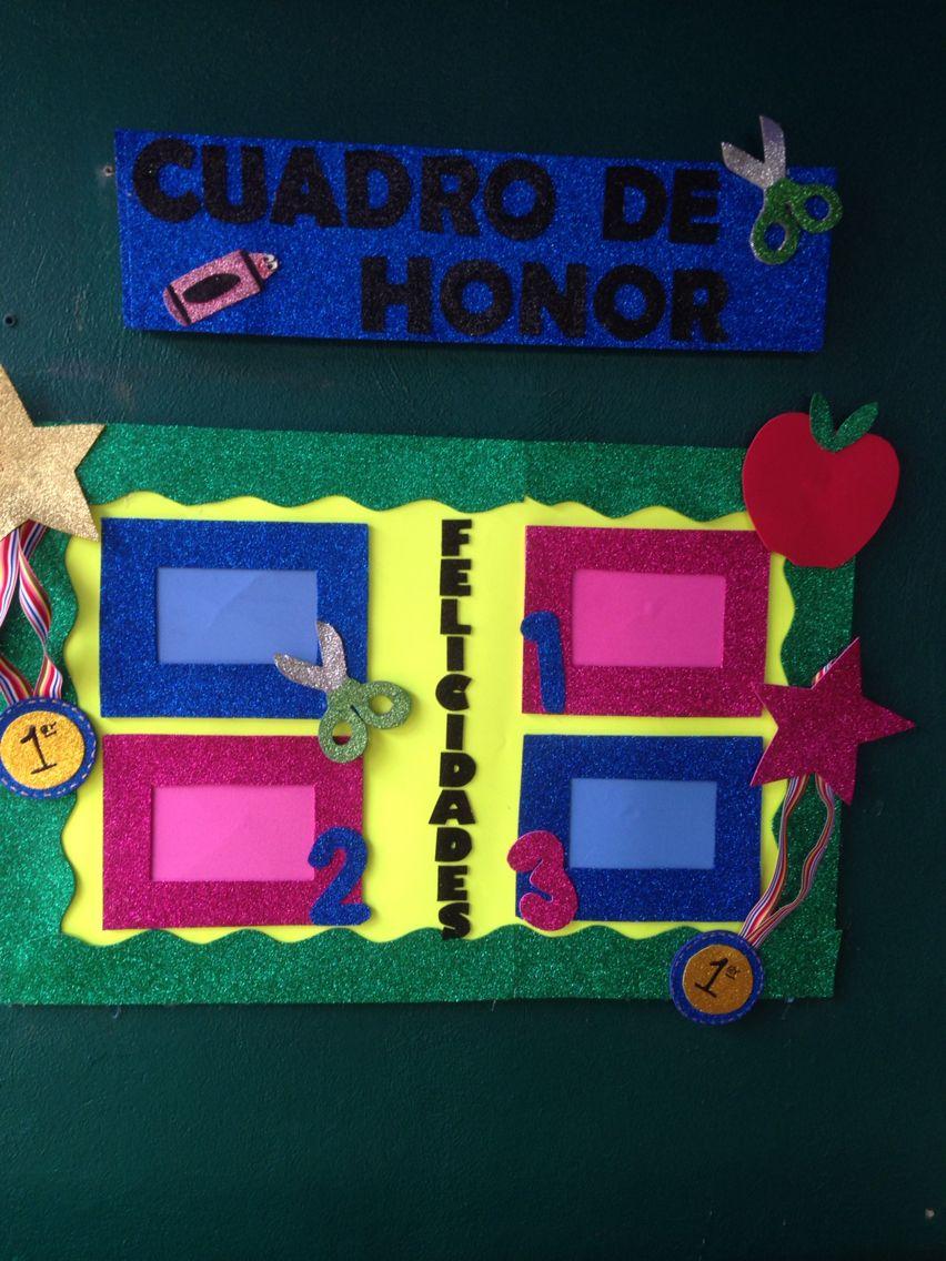 Cuadro de honor para k nder ideas para el salon de - Cuadro decoracion salon ...