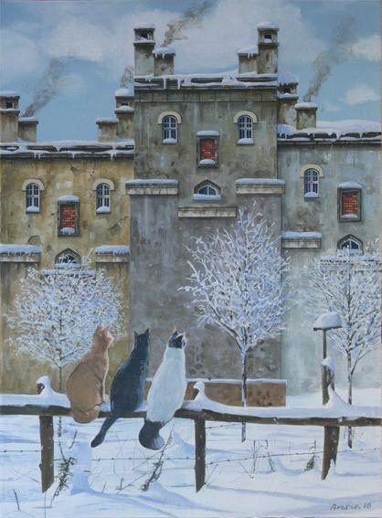 Snow Cats by Marek Brzozowski