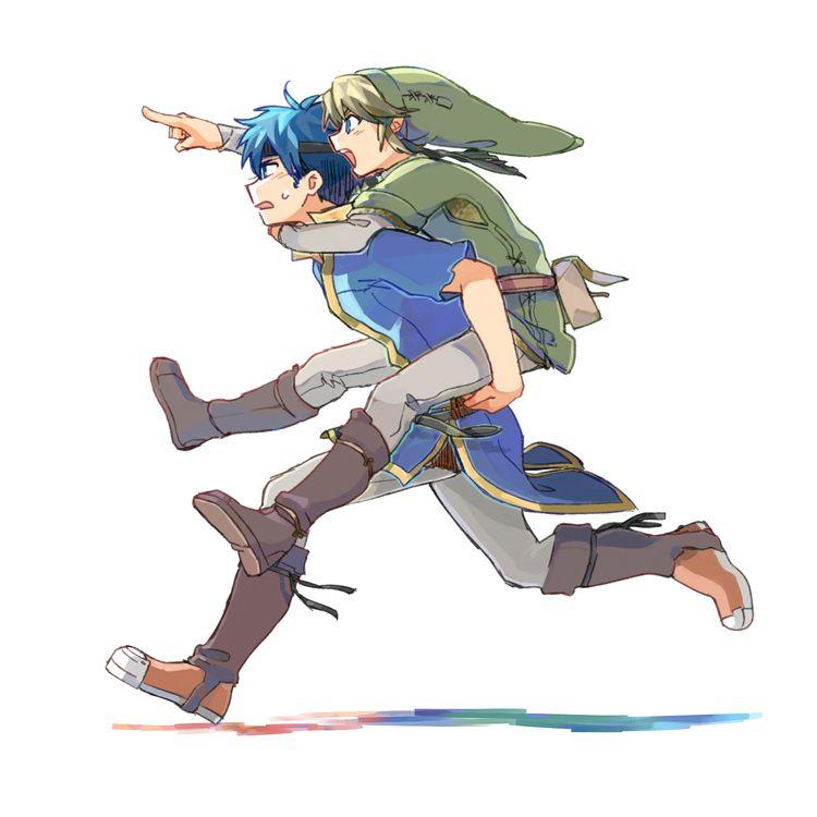 Ike et Link | #SmashBros