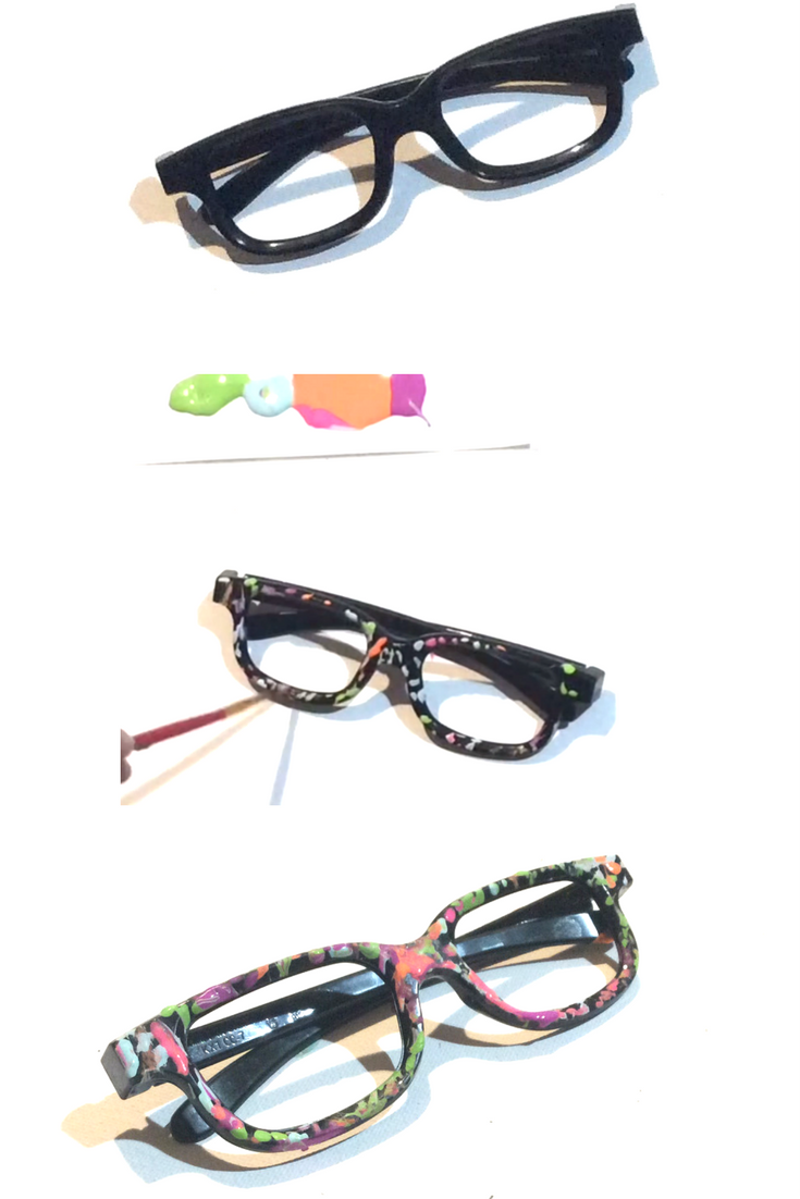 d82261e1033 DIY Dizzy glasses from descendants 2 for under  5 Materials  Fake glasses  (dollar store