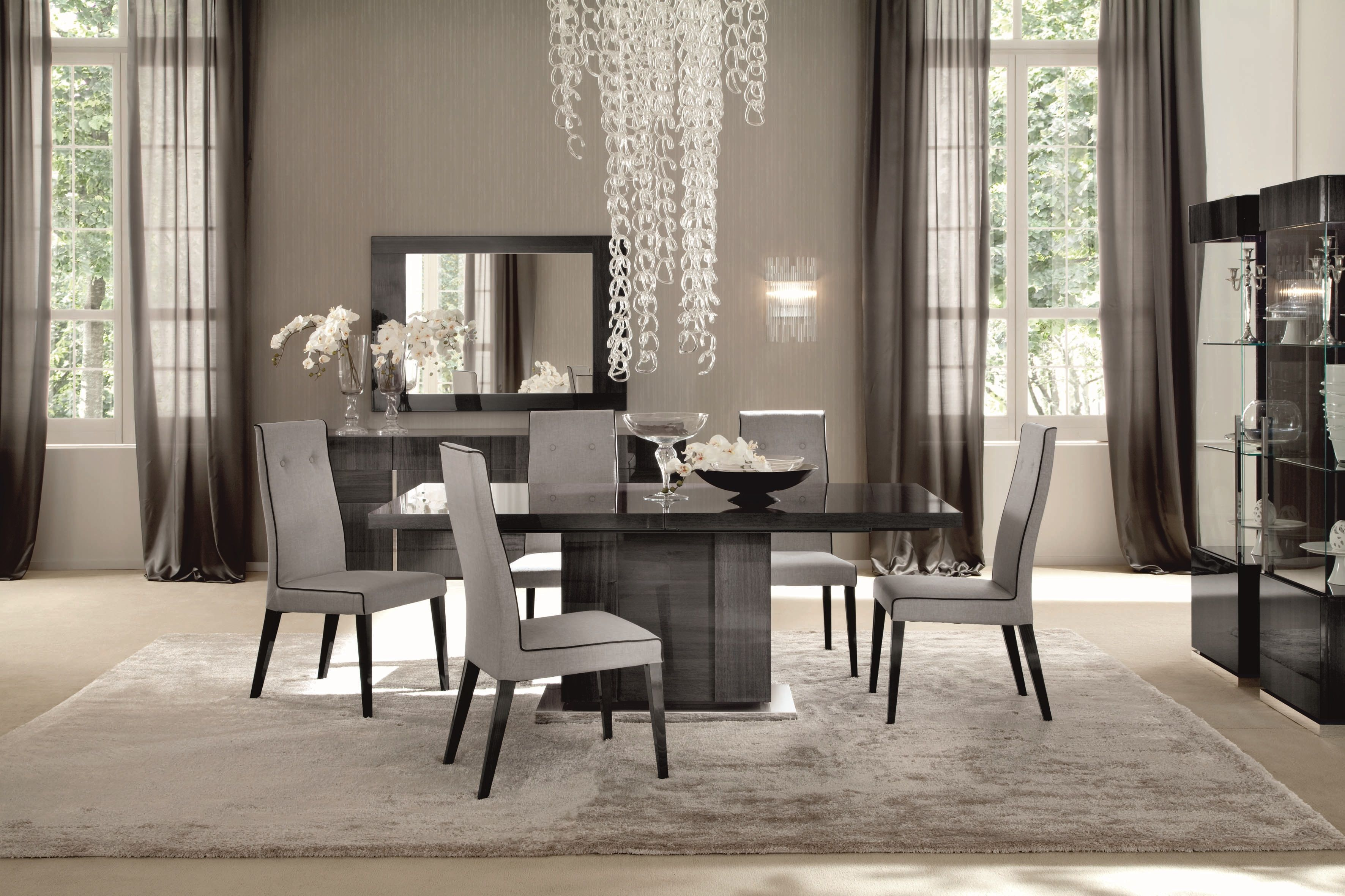 A Stunning Contemporary Dining Range The Keona Is Manufactured Interesting Ultra Modern Dining Room Decorating Inspiration