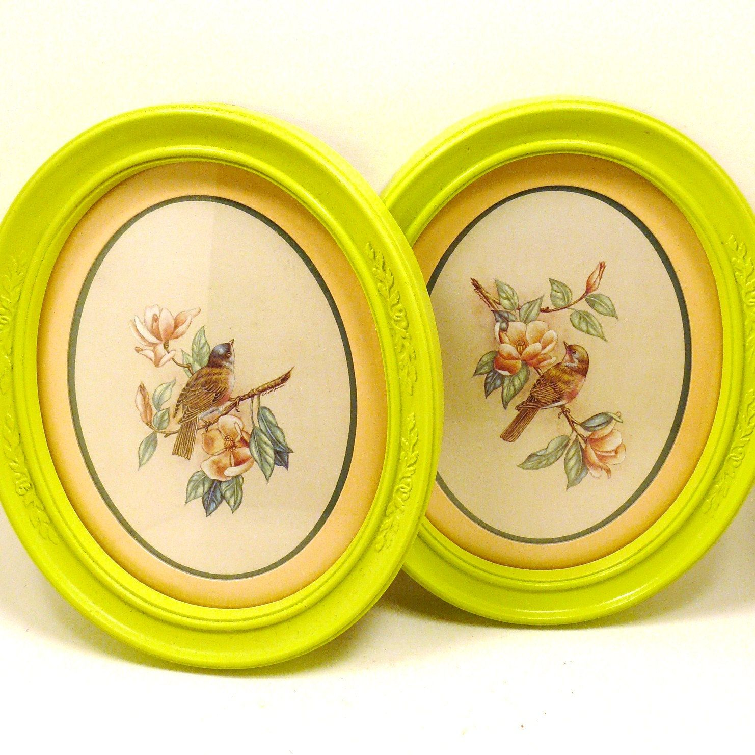 upcycled picture frames with bird prints | Design | Pinterest | Bird ...