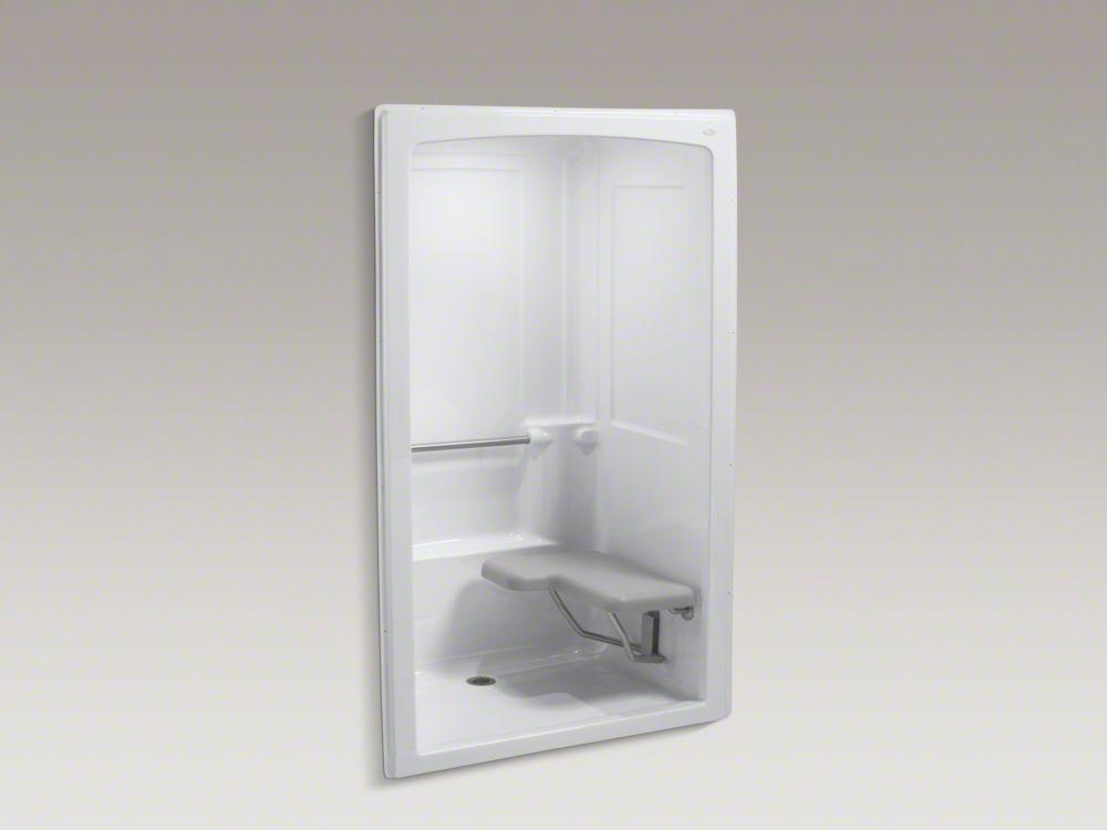 Kohler shower stall with fold-up seat | baños | Pinterest | Kohler ...