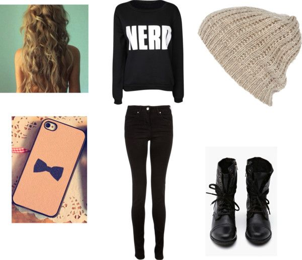 """""""Nerdd3"""" by lexileavens ❤ liked on Polyvore"""