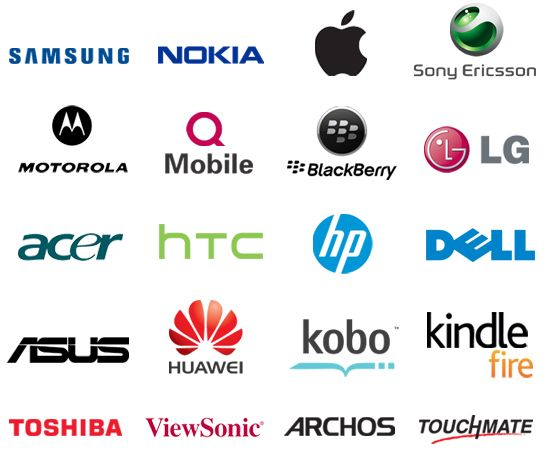 All Mobile Brand Logo by Wava Hudson | Places to Visit