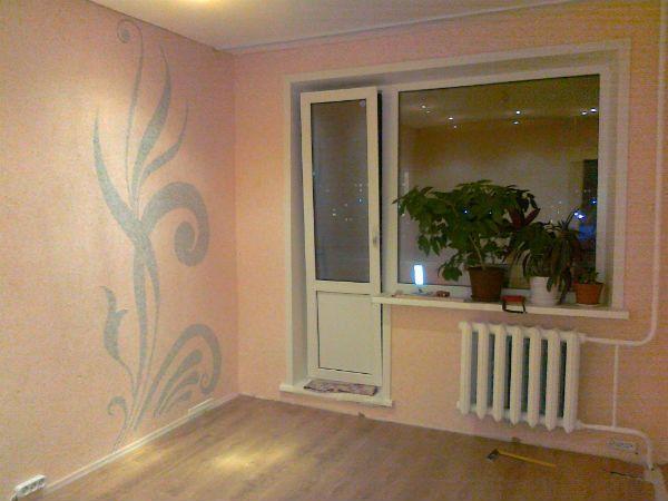 жидкие обои рисунки 8 идеи ремонта квартиры Plaster Interior