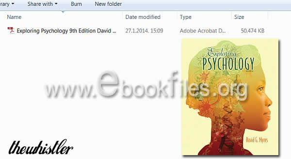 Ebook exploring download psychology 9th edition