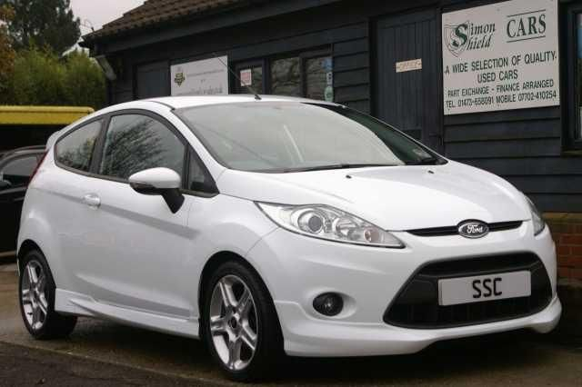 Ford Fiesta 1 6 Tdci 95 Zetec S 3dr Hatchback Diesel White High