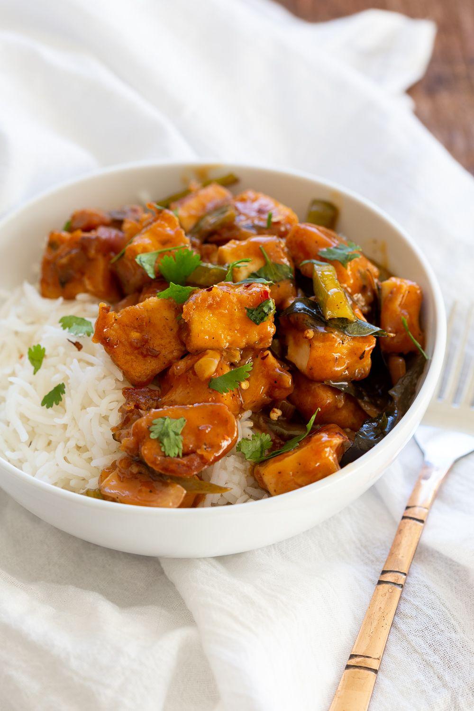 Tofu 65 Vegan Paneer 65 Recipe Tofu Vegetarian Entrees