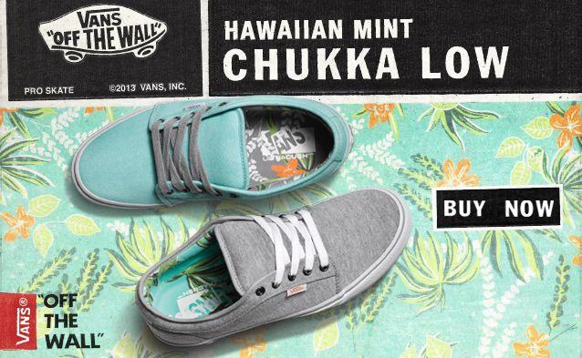 Exclusive Vans Chukka Low Hawaiian Mint from  zumiez  shopmckinley ... a23a021ec
