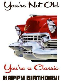 Happy Birthday Classic Cars Images