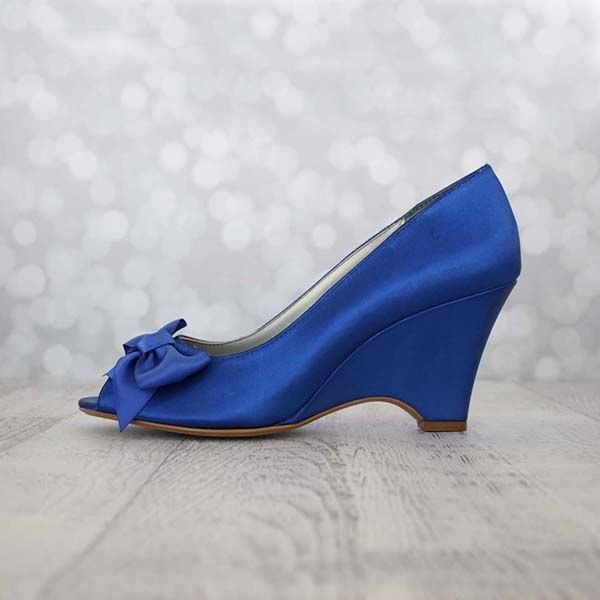 17 Best images about Something Blue Wedding Shoes on Pinterest ...