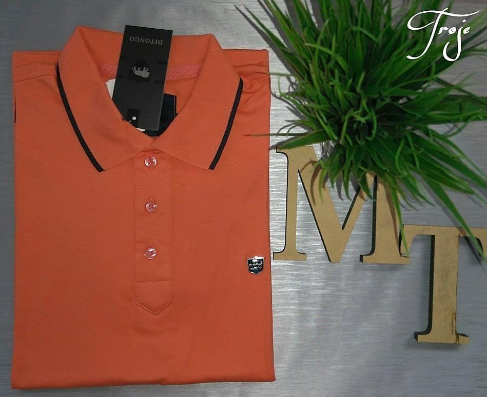 2ff23967e9 Linda camisa polo laranja 😍 Marca-Ditongo Tamanho M Por apenas R ...