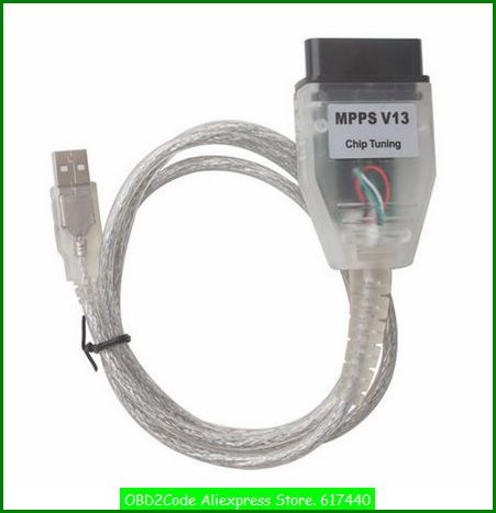 OBD2Code Interface MPPS V13 chip tuning Smps Mpps car memory