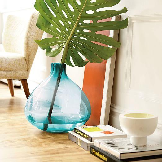 Oversized Glass Vase Glass Floor Vase Vase Shop Modern Vase
