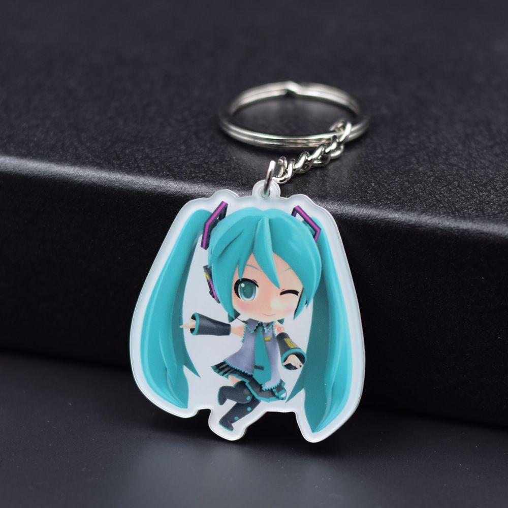 Click To Buy Hatsune Miku Keychain 6 Styles Game Key Chains Hot Sale Custom Made Anime Key Ring Fq1 Affiliate Keychain Game Keys Stuff To Buy