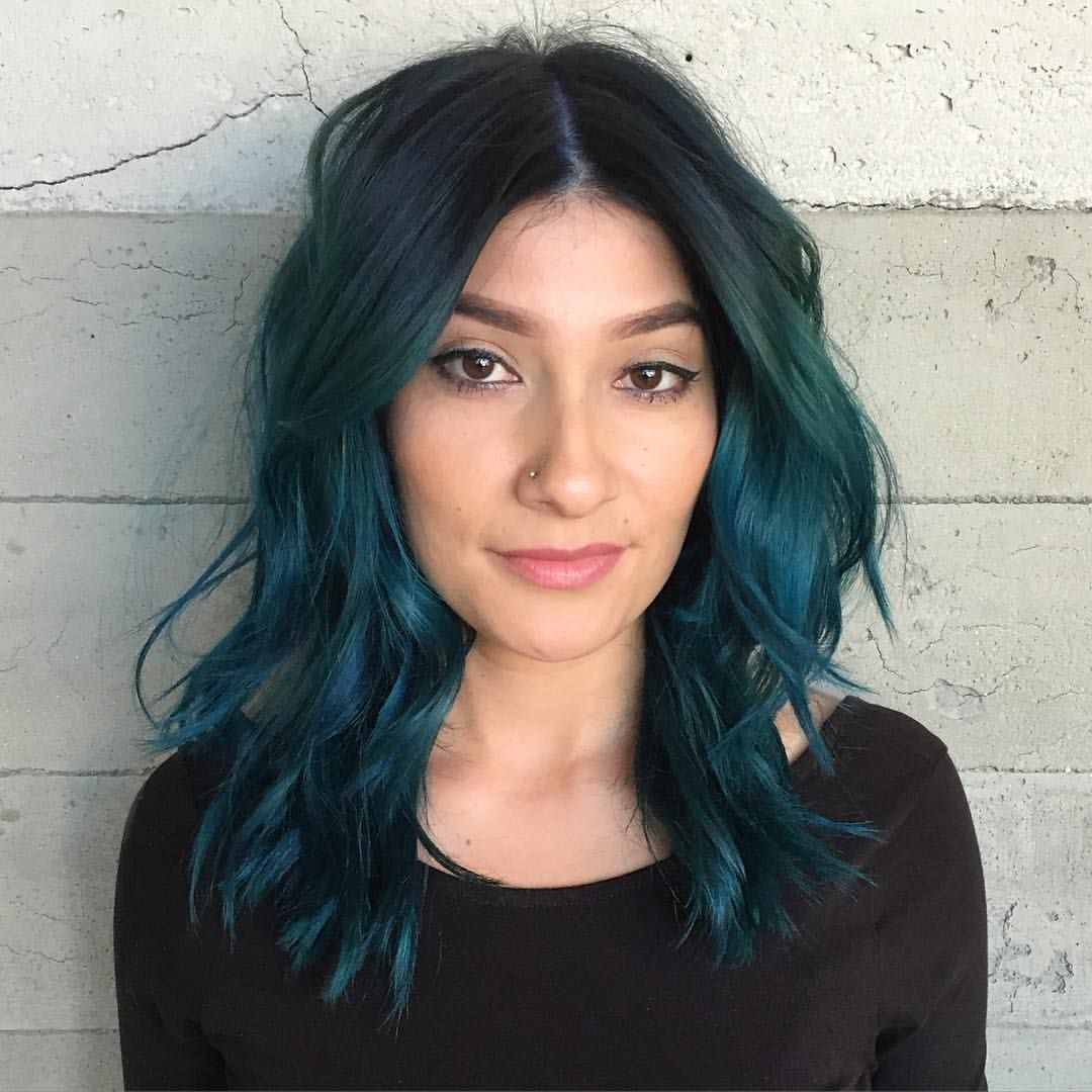 Erfly Loft Salon No Instagram Aqua Teal By Stylist