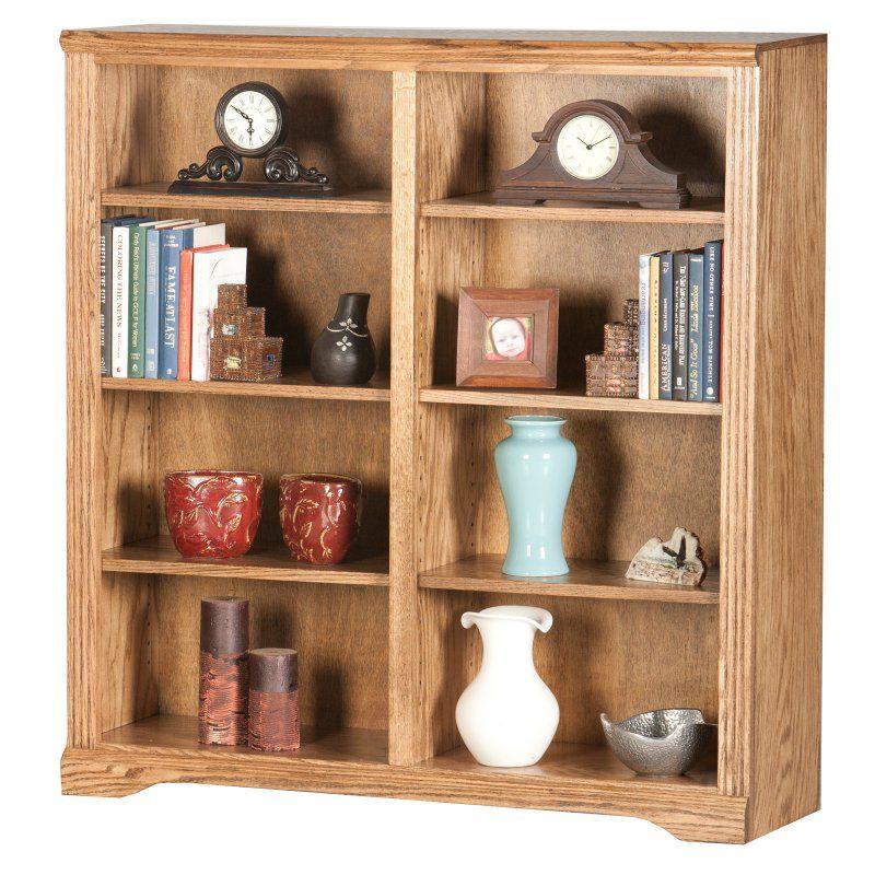 Eagle Furniture Oak Ridge Tall Double Wide Bookcase - 93848NGCC