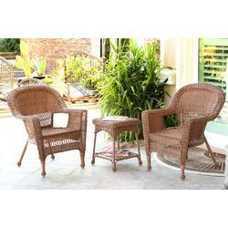Miranda 3 Piece Seating Group in HoneyWHAT DO YOU THINK FOR THE PARTY SANDY