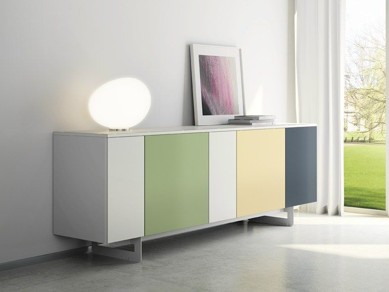 Laminate Sideboard With Doors DRu2022ØNE Collection By De Rosso