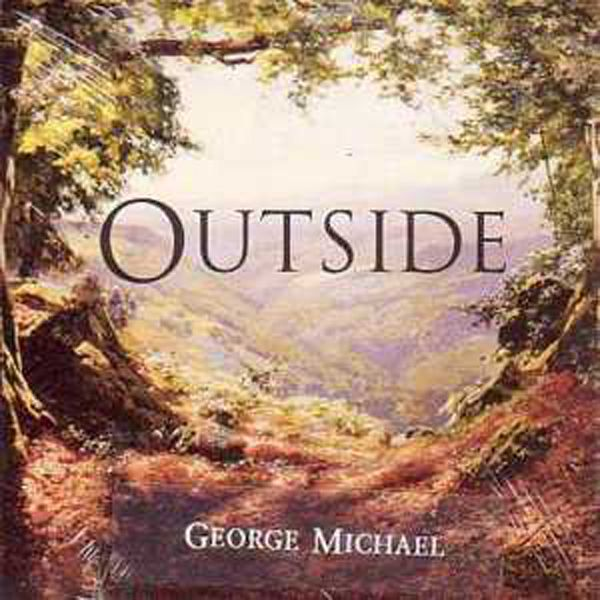 George Michael – Outside (single cover art)