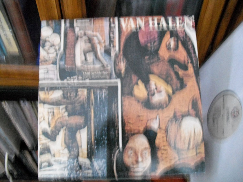 Van Halen Fair Warning 1981 4th Studio Album David Lee Era Van Halen Fair Warning Van Halen Studio Album