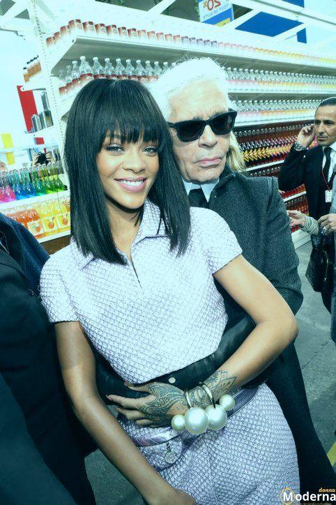 Photo of Le ultime acconciature e trucchi di Rihanna