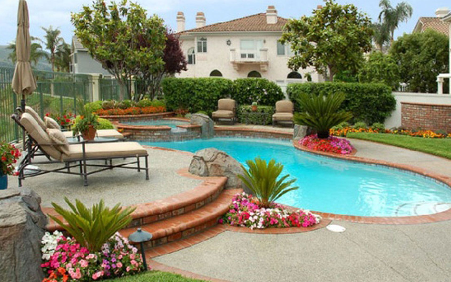 Back Yard Swimming Pools Backyard Swimming Pools Amazing Backyard Pool Designs To Relax