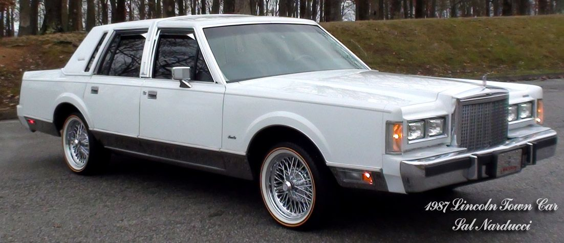 1987 Lincoln Continental Town Car Tru Spokes Wire Wheels A
