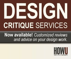 Critique Services: A New Resource for Designers on http://www.howdesign.com