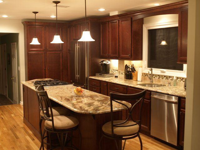 Get Stranded On This Cooking Island New Milford Nj Kitchen Remodel Kitchen Design Cooking Island