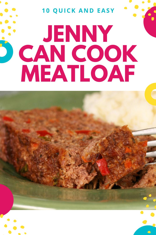 Jenny Can Cook Meatloaf How To Cook Meatloaf Meatloaf Meatloaf Recipes