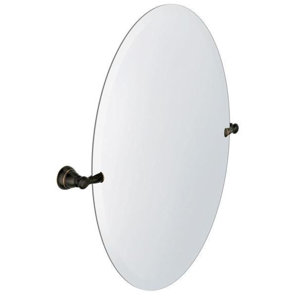 Moen Banbury 23 In X 26 In Frameless Pivoting Single Wall Mirror