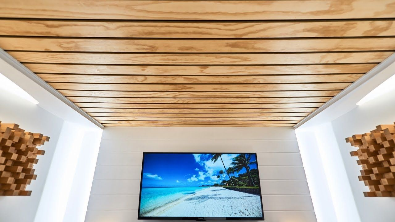 Dep Design Interieur Quebec Making And Installing An Acoustic Ceiling Youtube Home