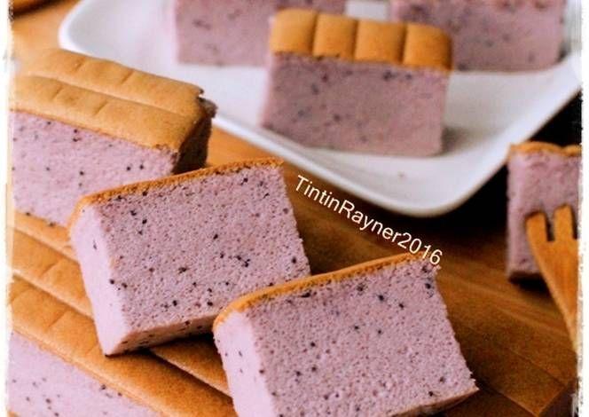 Resep Ogura Cake Taro Purple Sweet Yam New Recipe Oleh Tintin Rayner Resep Resep Resep Makanan Kue Mangkok
