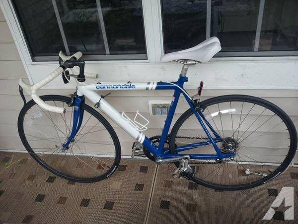 Cannondale 3 0 Series Aluminum 20lb Road Bike Blue White Excellent 699 Cannondale Road Bike Blue And White
