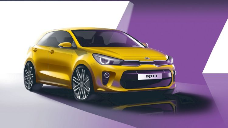 The Kia Rio Has Never Looked This Good Kia Rio Kia Motors Car