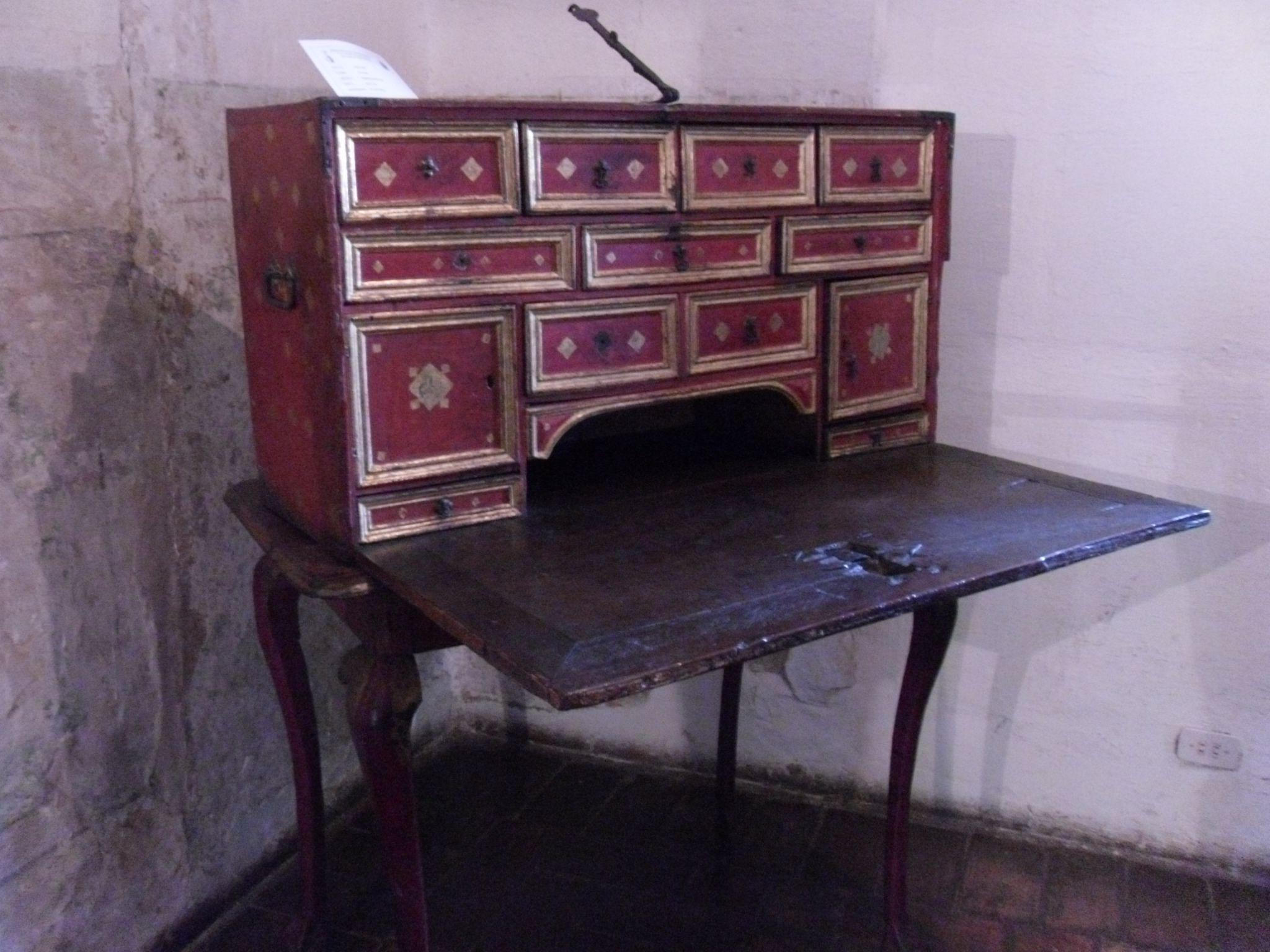 El Secretero Mueble Indispensable Casa Del Escribano Juan De  # Muebles Hojillados