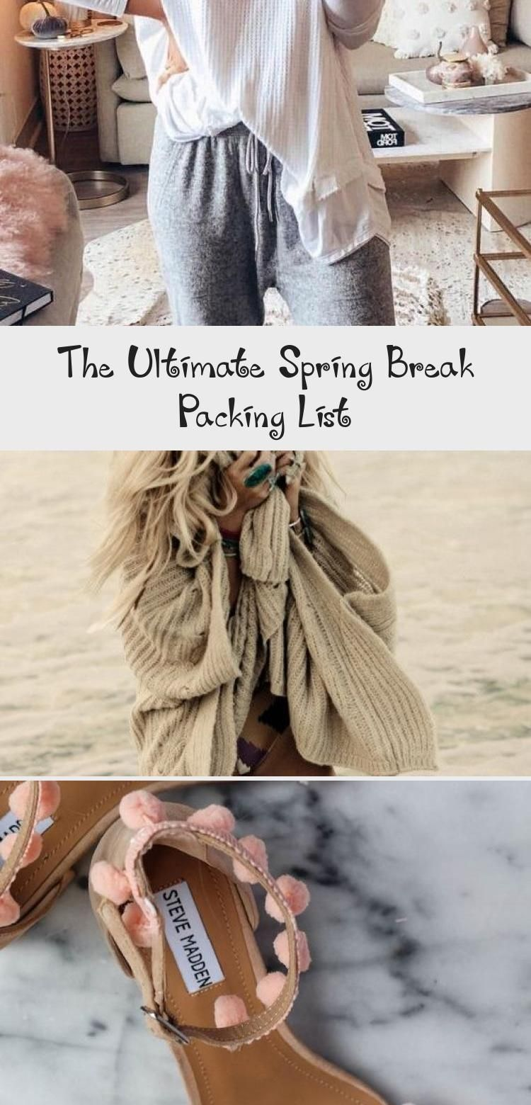 The Ultimate Spring Break Packing List #ultimatepackinglist