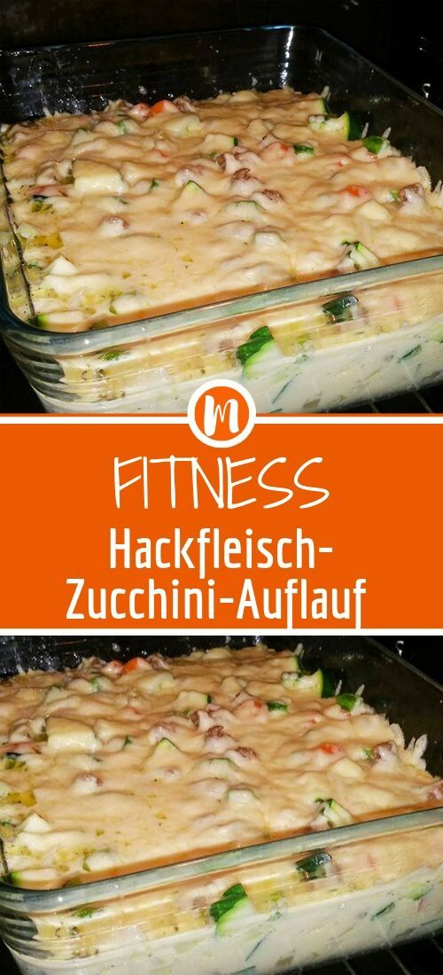 Photo of Fitness minced meat zucchini casserole