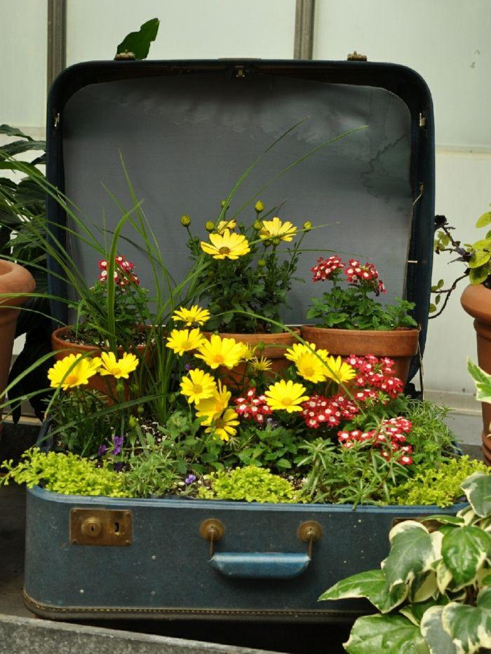 Gartendekoration klassische methoden die zu - Container garten ...